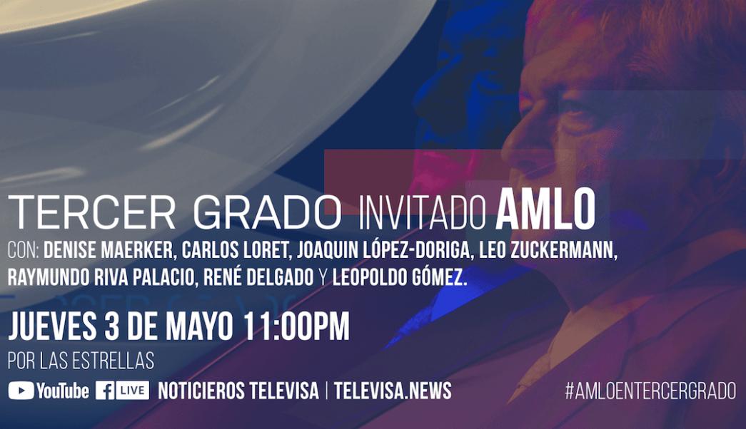 Programa completo: Tercer Grado con Andrés Manuel López Obrador como ...