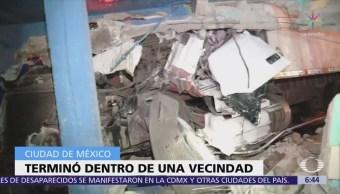 Tráiler Choca Impacta Vecindad Gustavo A. Madero, Cdmx