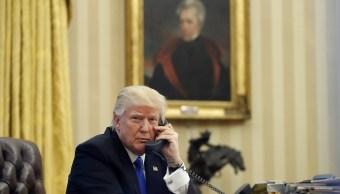 Trump dice hablará con Xi Jinping sobre comercio y Corea del Norte