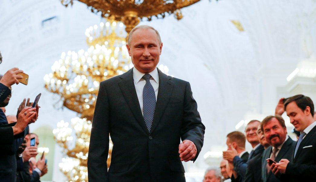 Trump felicita Putin su investidura cuarto mandato