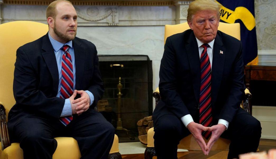 Trump recibe a Joshua Holt tras liberación en Venezuela
