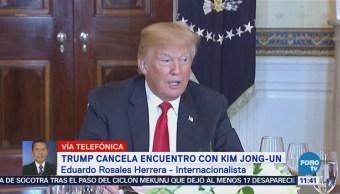 Trump no cedió en las negociaciones con Norcorea, señala analista