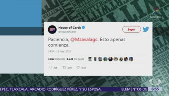 Twitter de 'House of Cards' se refiere a Margarita Zavala