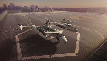 Uber da conocer prototipo taxi aéreo eléctrico