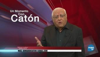 Momento Armando Fuentes Catón Mayo Salud