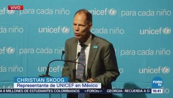 UNICEF presenta su informe anual 2017