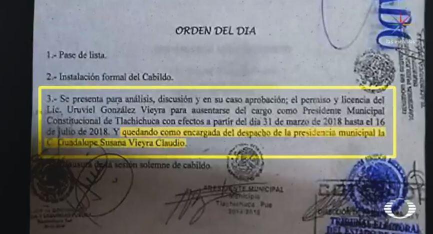Uruviel González Vieyra niega que su madre gobierne