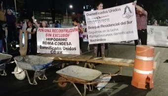 Amieva pide no politizar necesidades de damnificados sismo