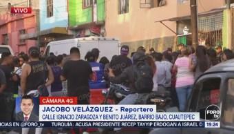 Vecinos Reportan Muerto Dos Herido Cuautepec