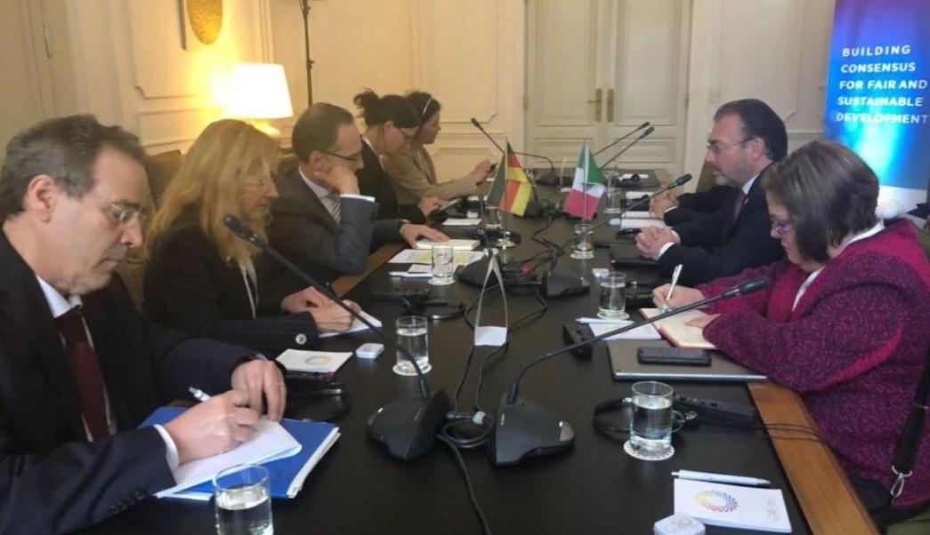 Luis Videgaray se reúne con ministro de Alemania