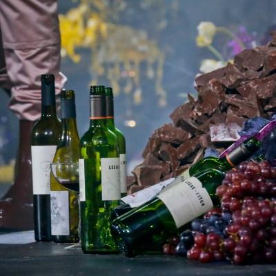Tomar vino tiene beneficios similares para la salud que hacer ejercicio