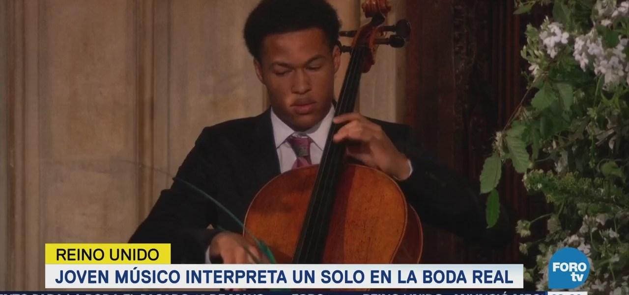 Violonchelista toca en ceremonia emotiva del príncipe Enrique y Meghan Markle