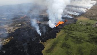Lava del volcán Kilauea de Hawai amenaza suministro eléctrico
