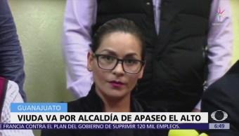 Viuda de candidato en Apaseo El Alto sí va como candidata