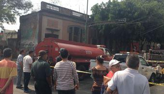 Explosión de gas deja 8 lesionados y 12 departamentos dañados en CDMX
