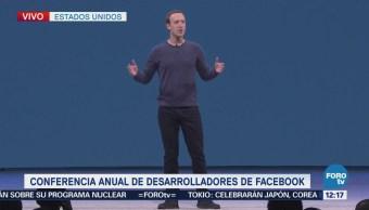 Zuckerberg habla en conferencia de desarrolladores de Facebook