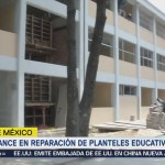 avance en reparación de escuelas por sismo