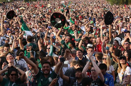 México triunfa en primer partido en el Mundial
