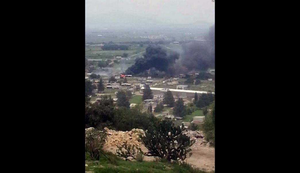 Investigan nueva explosión de polvorín en Tultepec