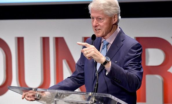 Bill Clinton presenta libro El presidente ha desaparecido