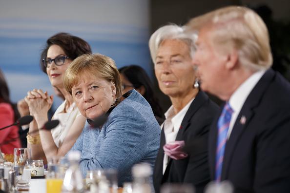 Merkel califica de 'deprimente' actitud de Trump ante el G7