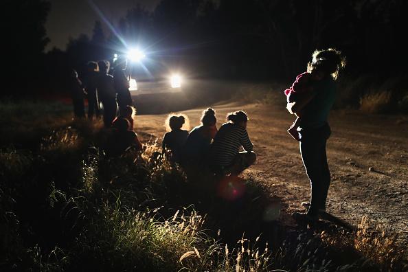 57 indocumentados fueron detenidos en frontera EU-México