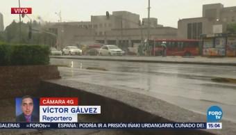 Alerta Lluvia Granizo 10 Delegaciones Cdmx