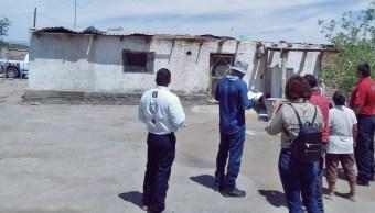 Reportan 21 viviendas afectadas por tromba en Chihuahua