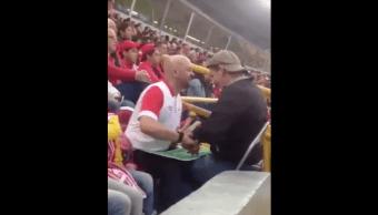 Aficionado Ciego Futbol Video Redes Sociales