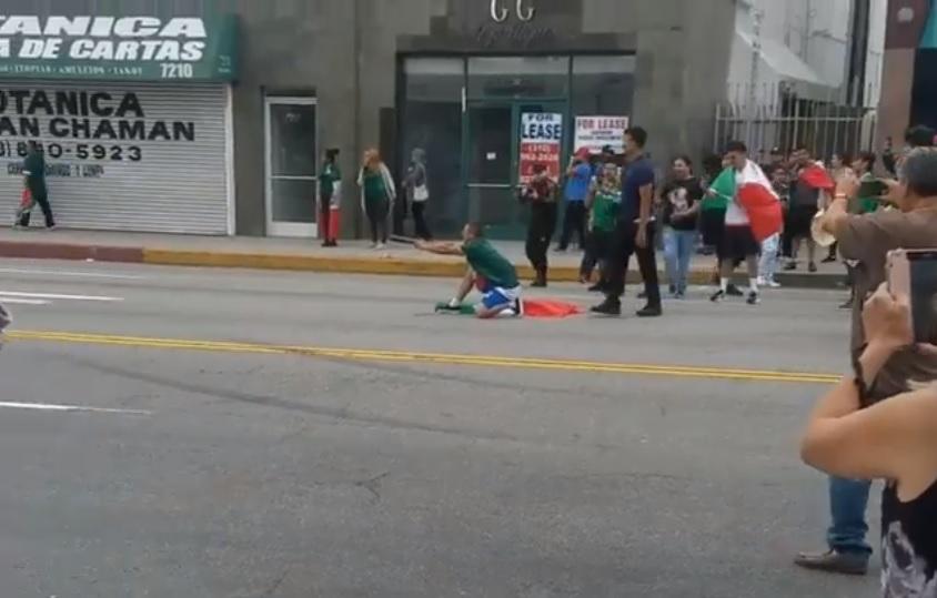 [Video] Aficionado del Tricolor enfrenta 27 años de cárcel por explosiva celebración