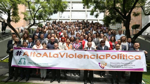 TEPJF condena la violencia en el proceso electoral