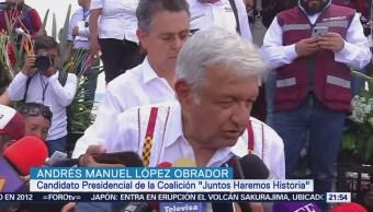 Amlo Realiza Campaña Estado Oaxaca