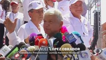 AMLO Responsabiliza Gobernador Hidalgo Violencia Mitin