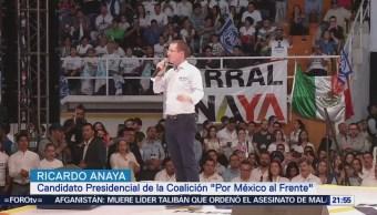 Anaya Propone Replicar Acciones Contra Corrupción