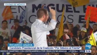 Anaya Reúne Simpatizantes CDMX