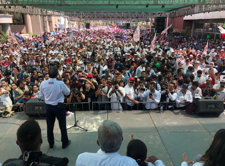 López Obrador protesta por trato a migrantes en Estados Unidos
