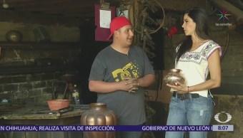 Artesanos de Santa Clara del Cobre mantienen viva tradición prehispánica