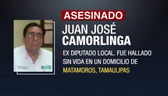 Asesinan Exdiputado PRI Tamaulipas Juan José Camorlinga
