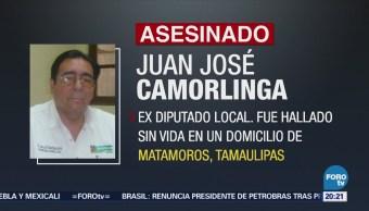 Asesinan Matamoros Exdiputado Local PRI Tamaulipas