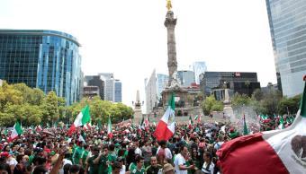Así se vivió el triunfo de la selección mexicana