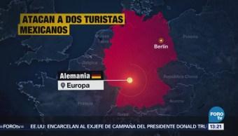 Atacan Dos Turistas Mexicanos Berlín Alemania