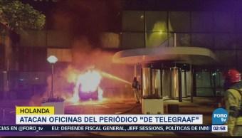 Atacan oficinas del periódico De Telegraaf