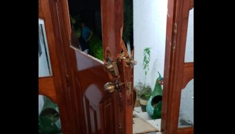 Irrumpen en casa de candidata en SLP; hay un herido