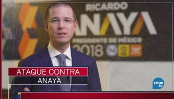 Ataque contra Ricardo Anaya