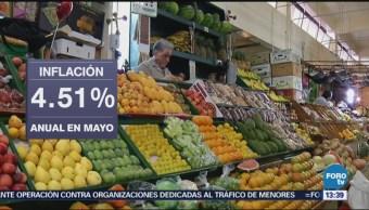 Aumenta inflación quincenal en 0.13: INEGI
