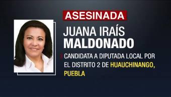 Autoridades Puebla Investigan Asesinato Juany Maldonado