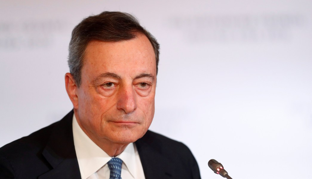 Banco Central Europeo finalizará programa de compra de bonos