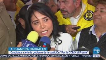 Barrales Dice Candidatura Alza Voto Útil