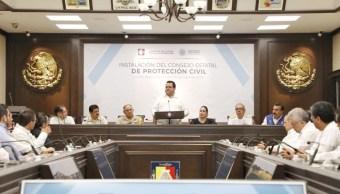 BCS instala Consejo Estatal de Protección Civil por temporada de huracanes