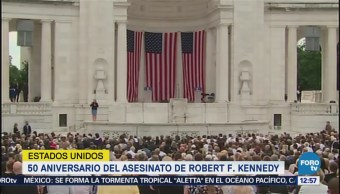 Bill Clinton reconoce legado de Robert F. Kennedy